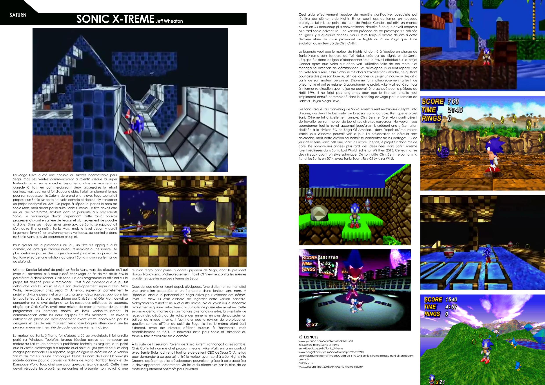Les jeux auxquels vous ne jouerez jamais - les jeux abandonnés ou annulés - exemples de jeux abandonnés ou annulés sur Sega Saturn - Unseen64