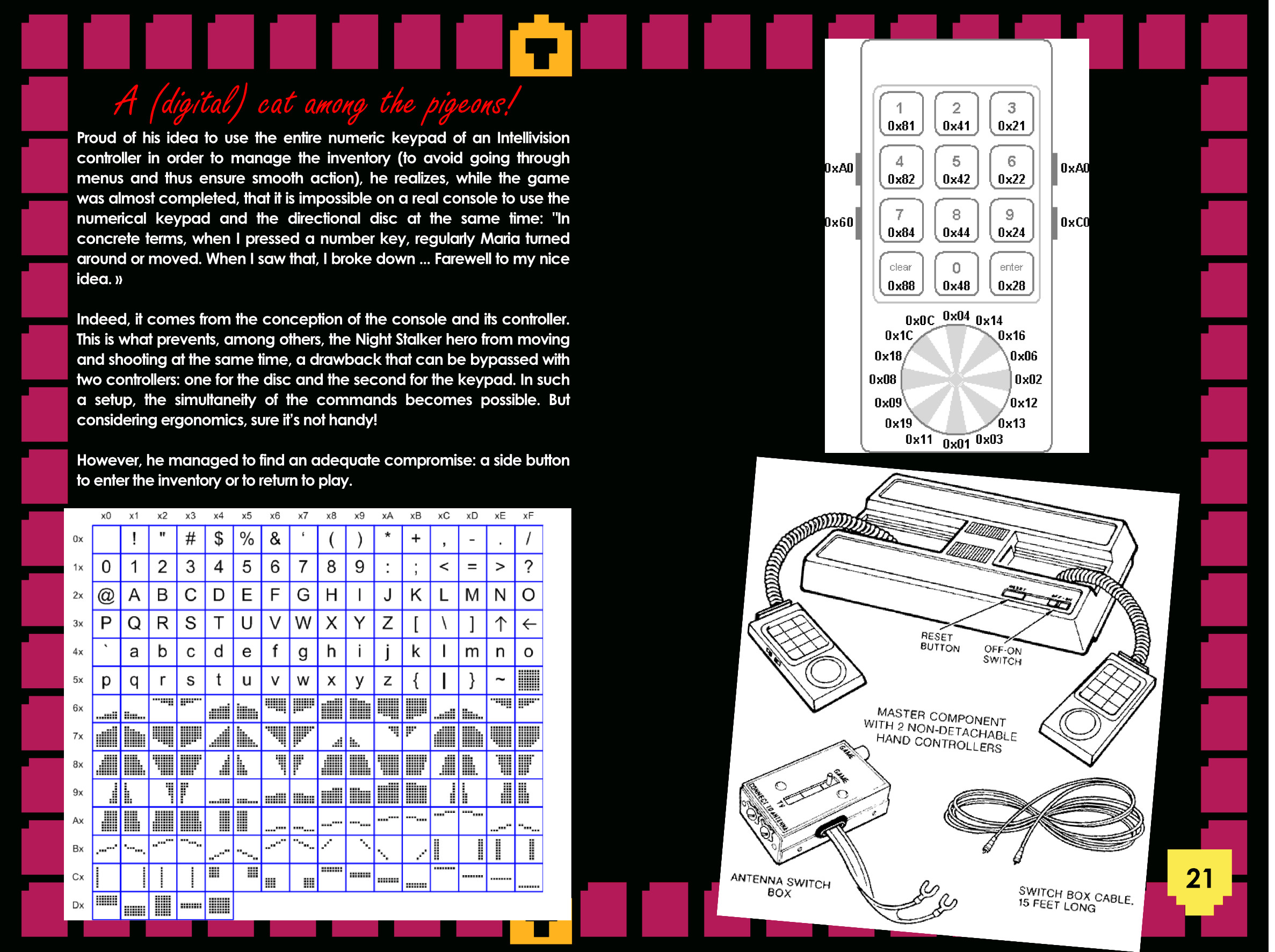 maria intellivision manual sample