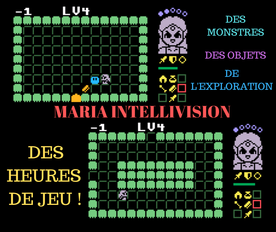 Maria Intellivision captures d'écran screenshots