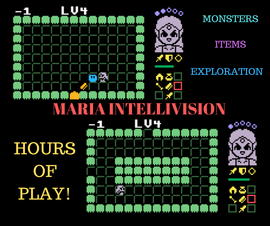 Maria Intellivision screenshots