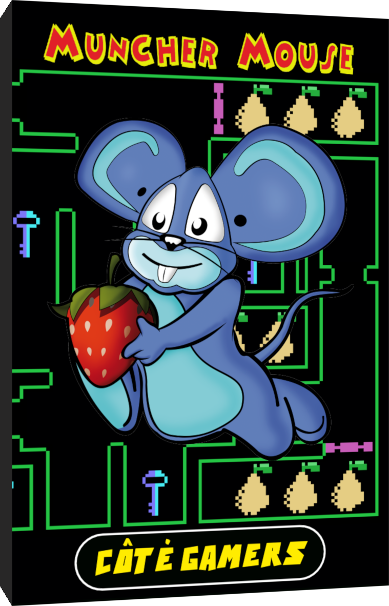 Muncher Mouse Colecovision Manual-Making-of