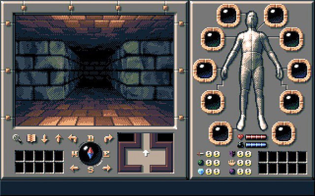 Shadow Of Sergoth Amiga Double Sided Games