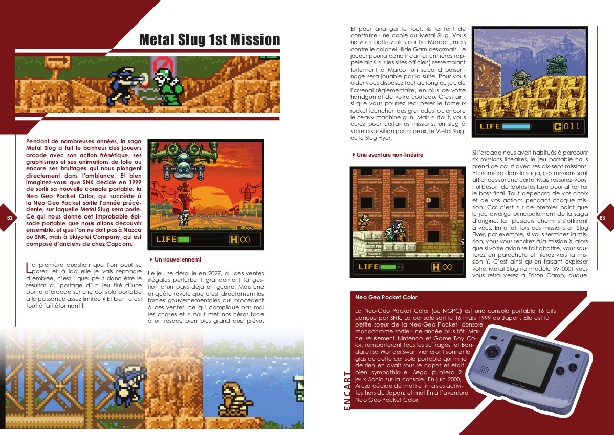 Replay Vol.1 - Metal Slug first mission et épisodes annexes