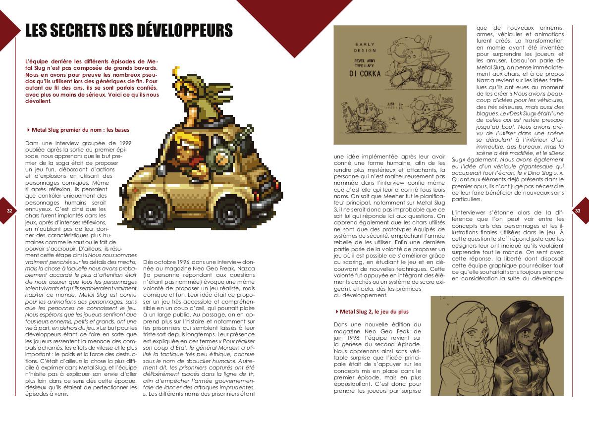 Replay Vol.1 - Metal Slug - les secrets des développeurs