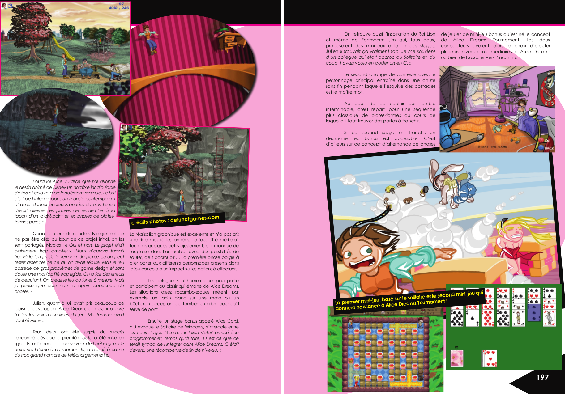 Making-of Alice Dreams Tournament Dreamcast, article de Revival Gamers chez Côté Gamers