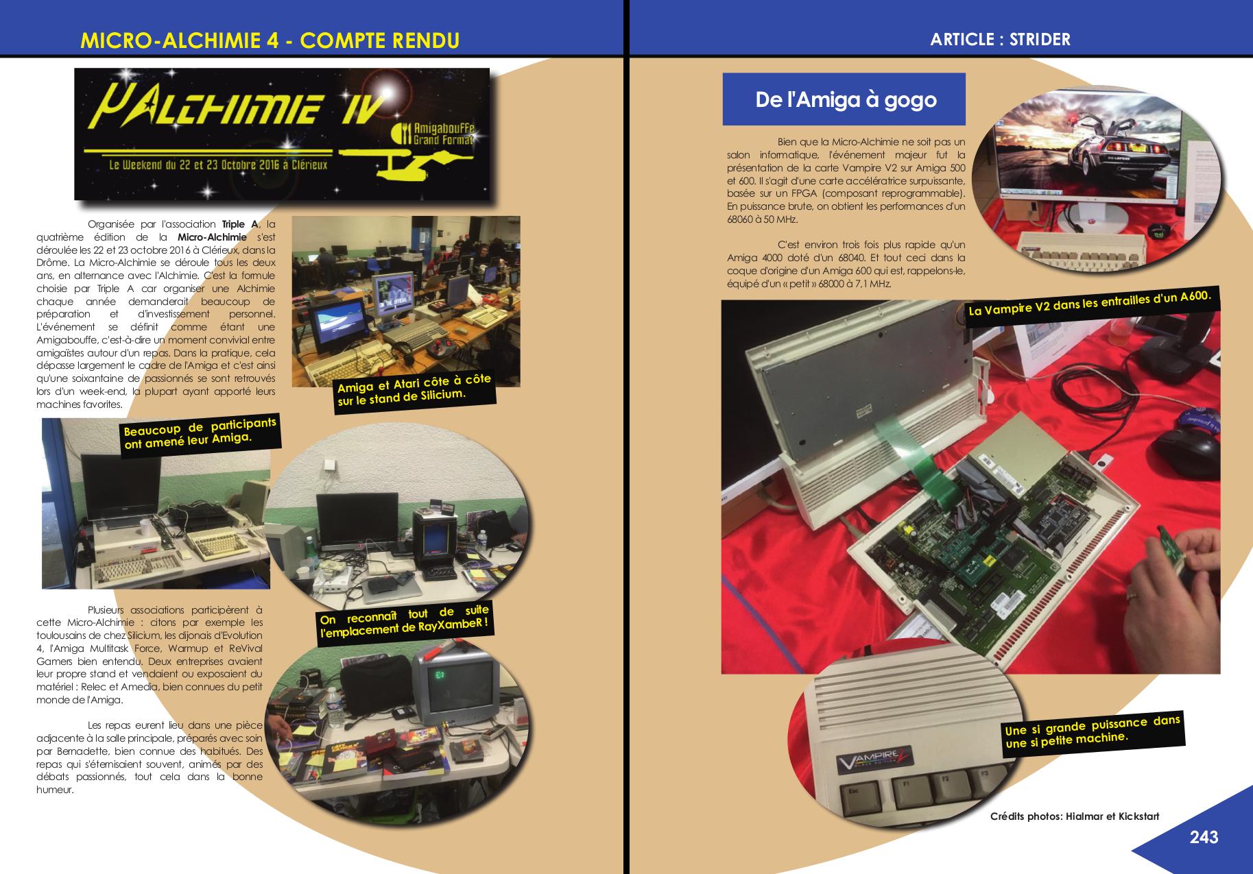 Compte rendu du salon Micro-Alchimie 4, article de Revival Gamers chez Côté Gamers