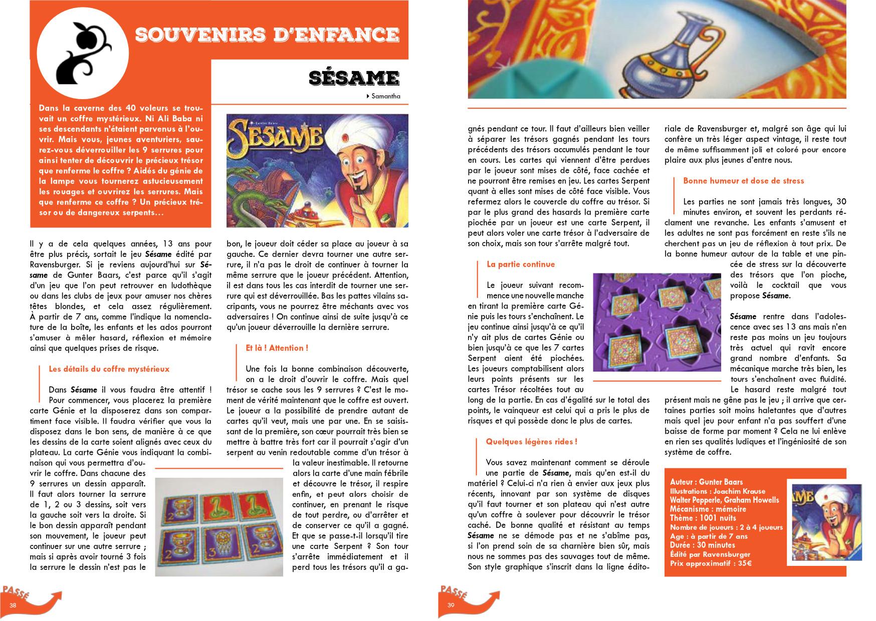 jeu de société magazine vol.1