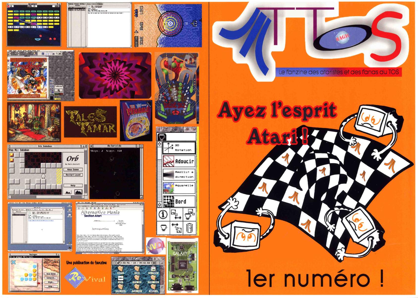 AtTOS magazine Atari ST