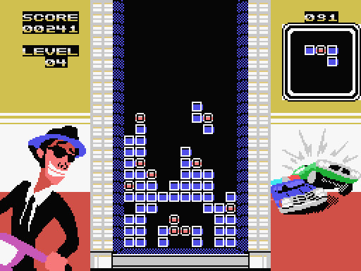 Bomb'n Blast 2 for ColecoVision, screenshot