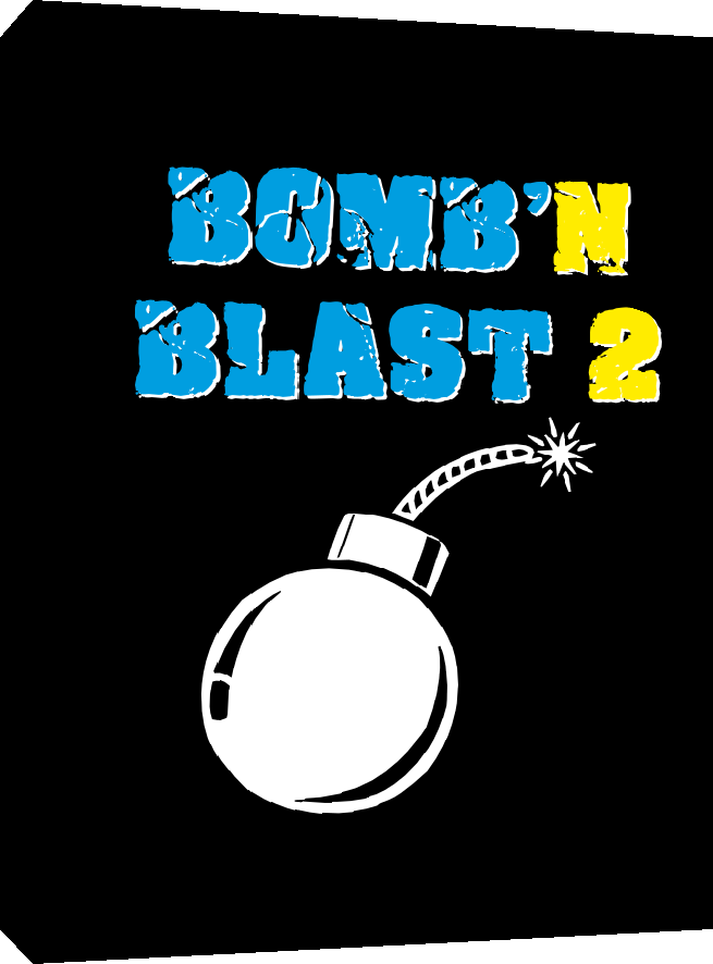 Bomb'n Blast 2 for Colecovison, instructions manual