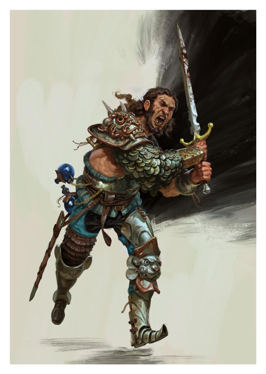 Castlevania Histoire complète action de noel 2020 illustration bonus Golden Axe 1