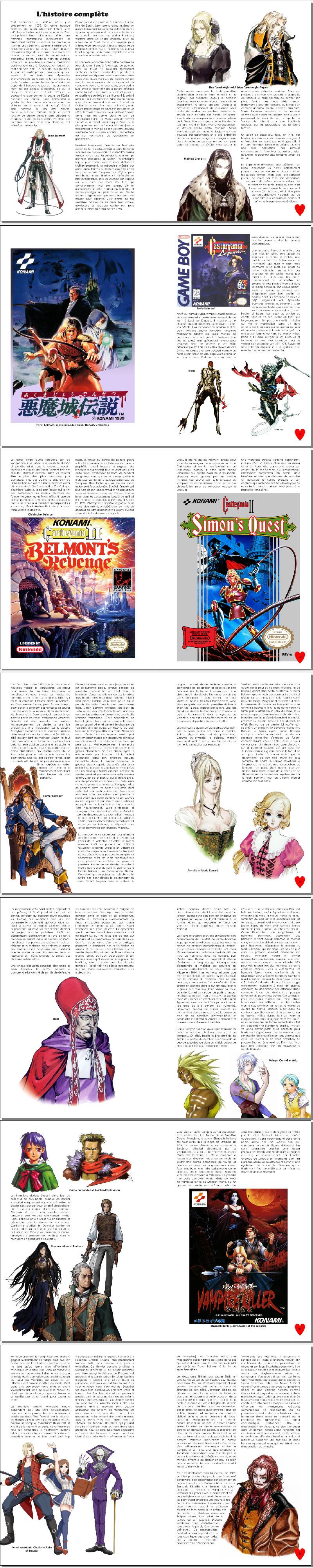 Castlevania Histoire complète action de noel extrait