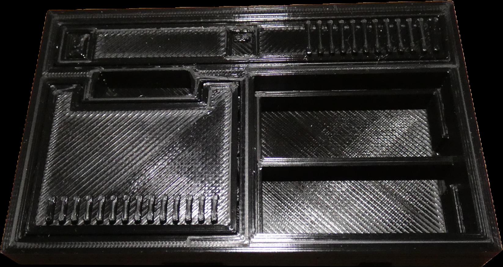 Mini colecoVision imprimée en 3D