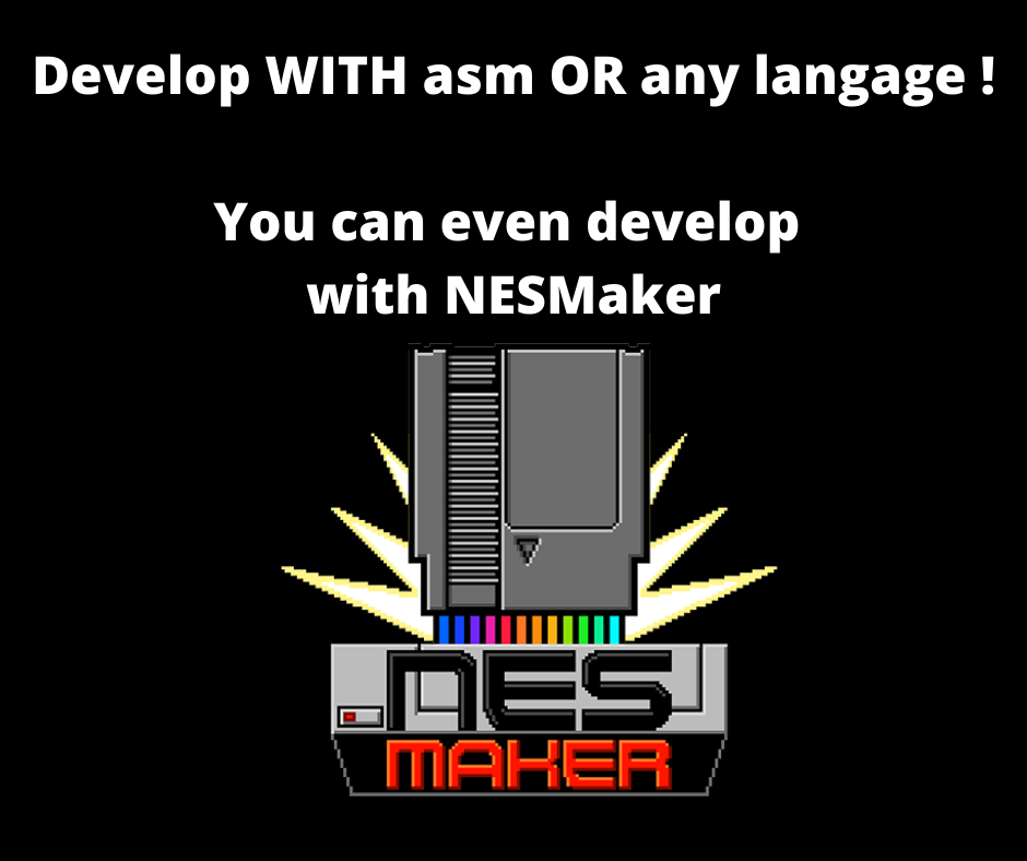 develop a nes game with nesmaker