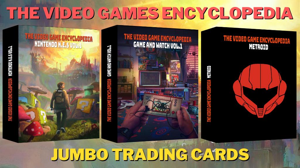 L'encyclopedie du jeu vidéo en carte à colelctionner - Trading Card