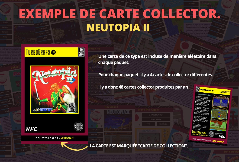 Exemple de carte encyclopédique sur le jeu vidéo collector