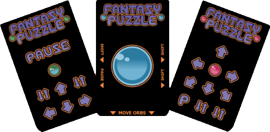 Fantasy Puzzle Intellivision Overlays