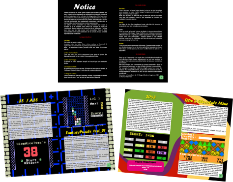 fantasy puzzle extrait notice, manual sample