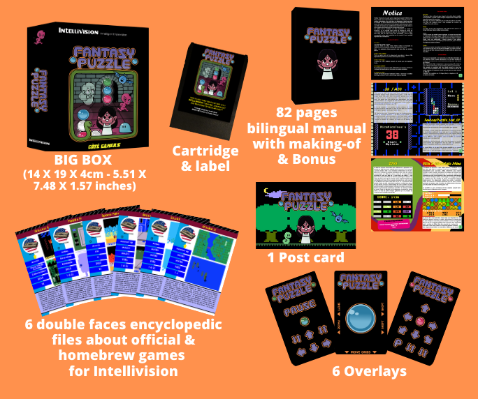 Fantasy Puzzle Intellivision packaging