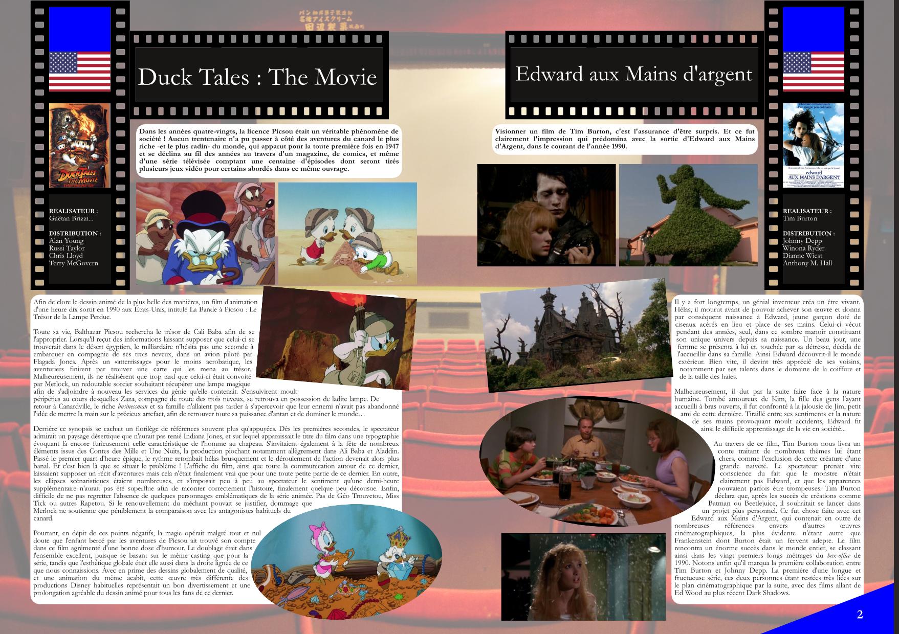 Flashback'90 extrait film - Duck Tales, Edward aux mains d'argent