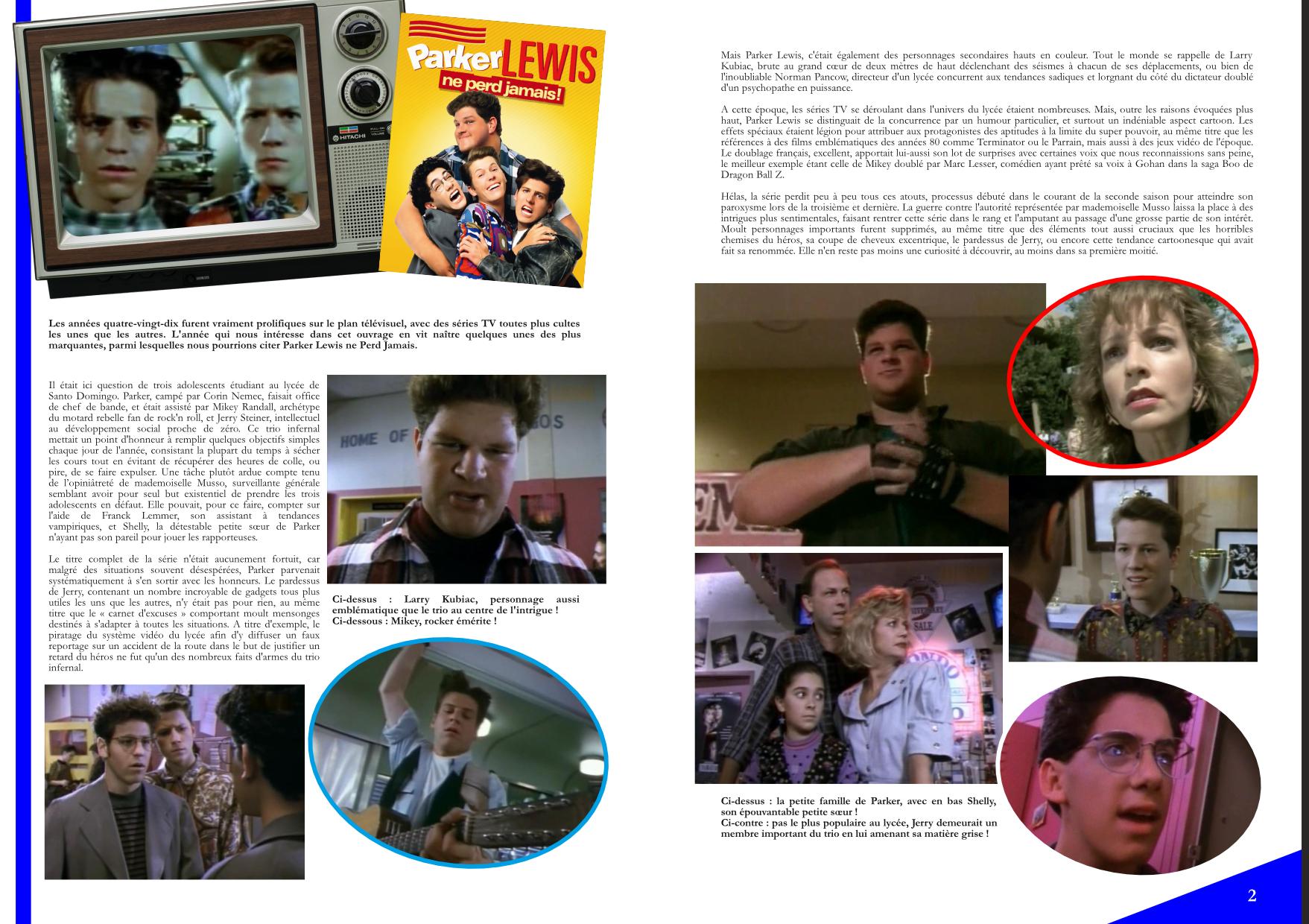 Flashback'90 extrait série - Parker Lewis Ne perd Jamais