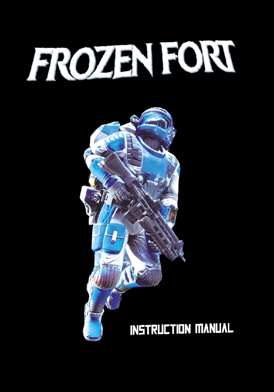 Frozen Fort notice making-of couverture française