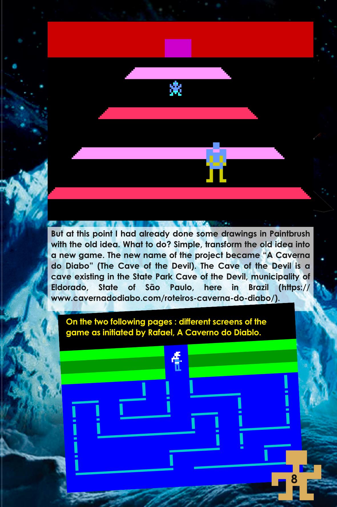 Frozen Fort Odyssey 2 Videopac Instruction Manual sample 2