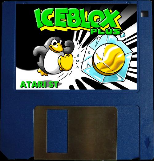Iceblox plus Atari ST disquette