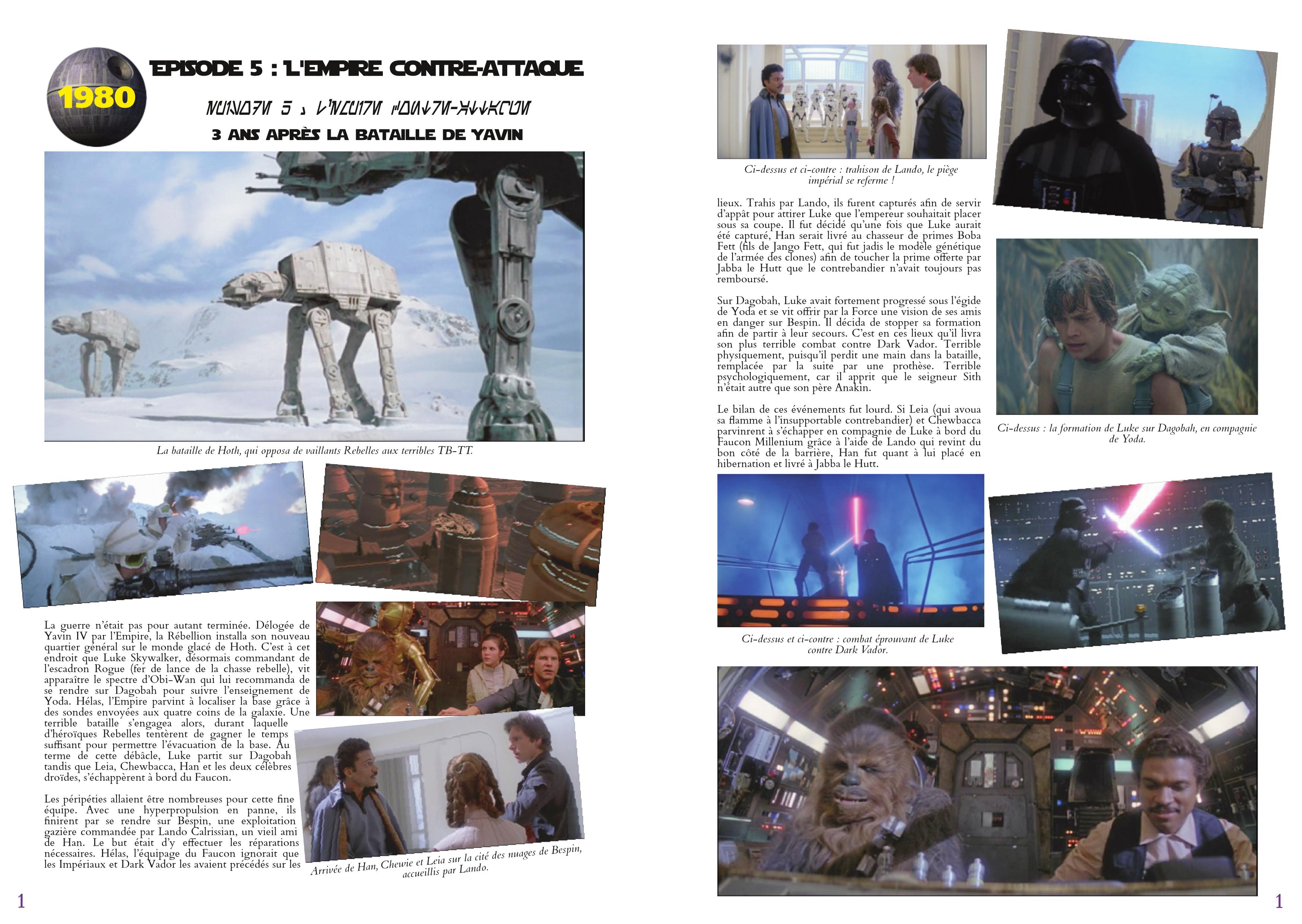 LucasArts les chroniques extrait Star Wars
