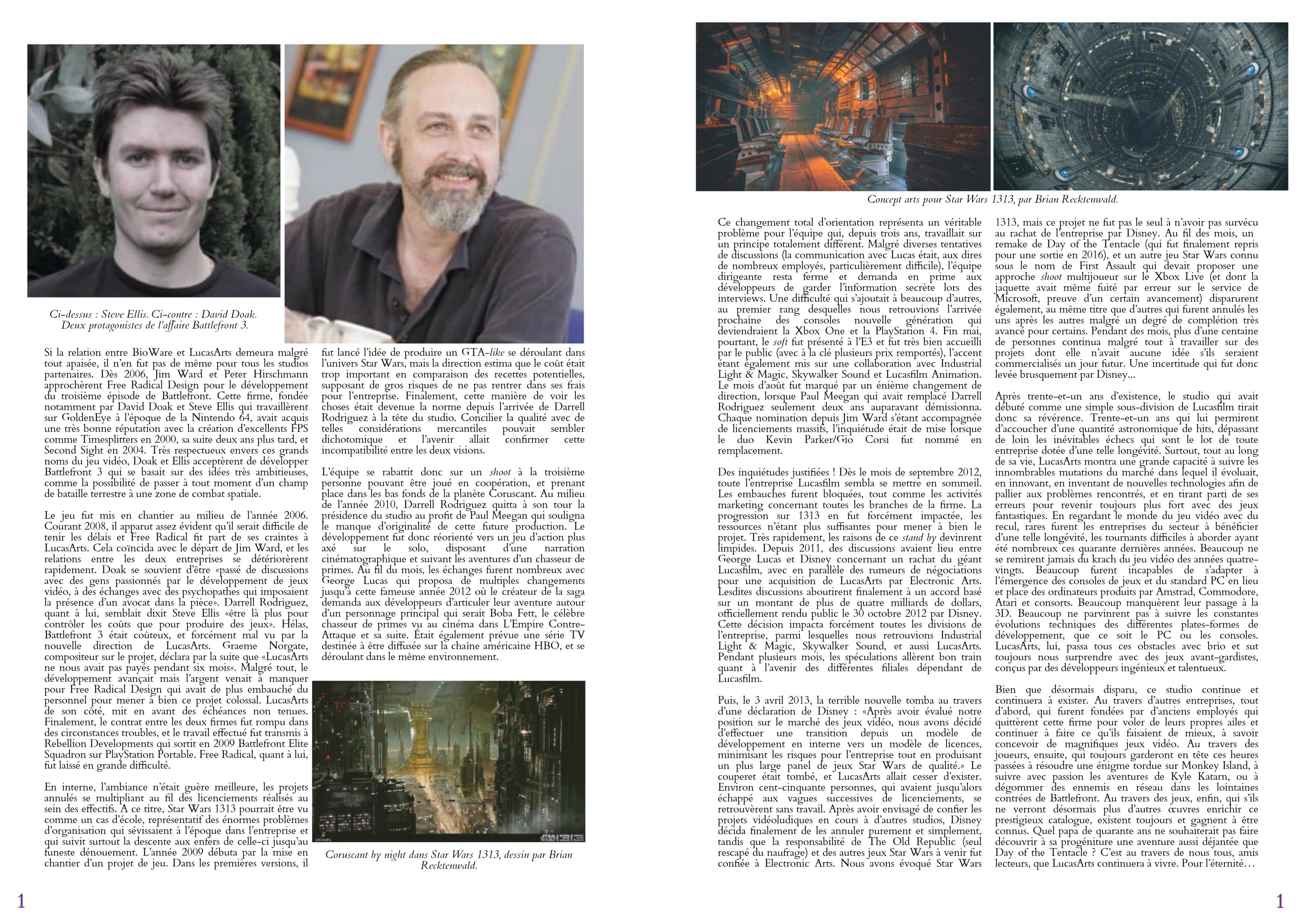 LucasArts les chroniques extrait histoire partie 12