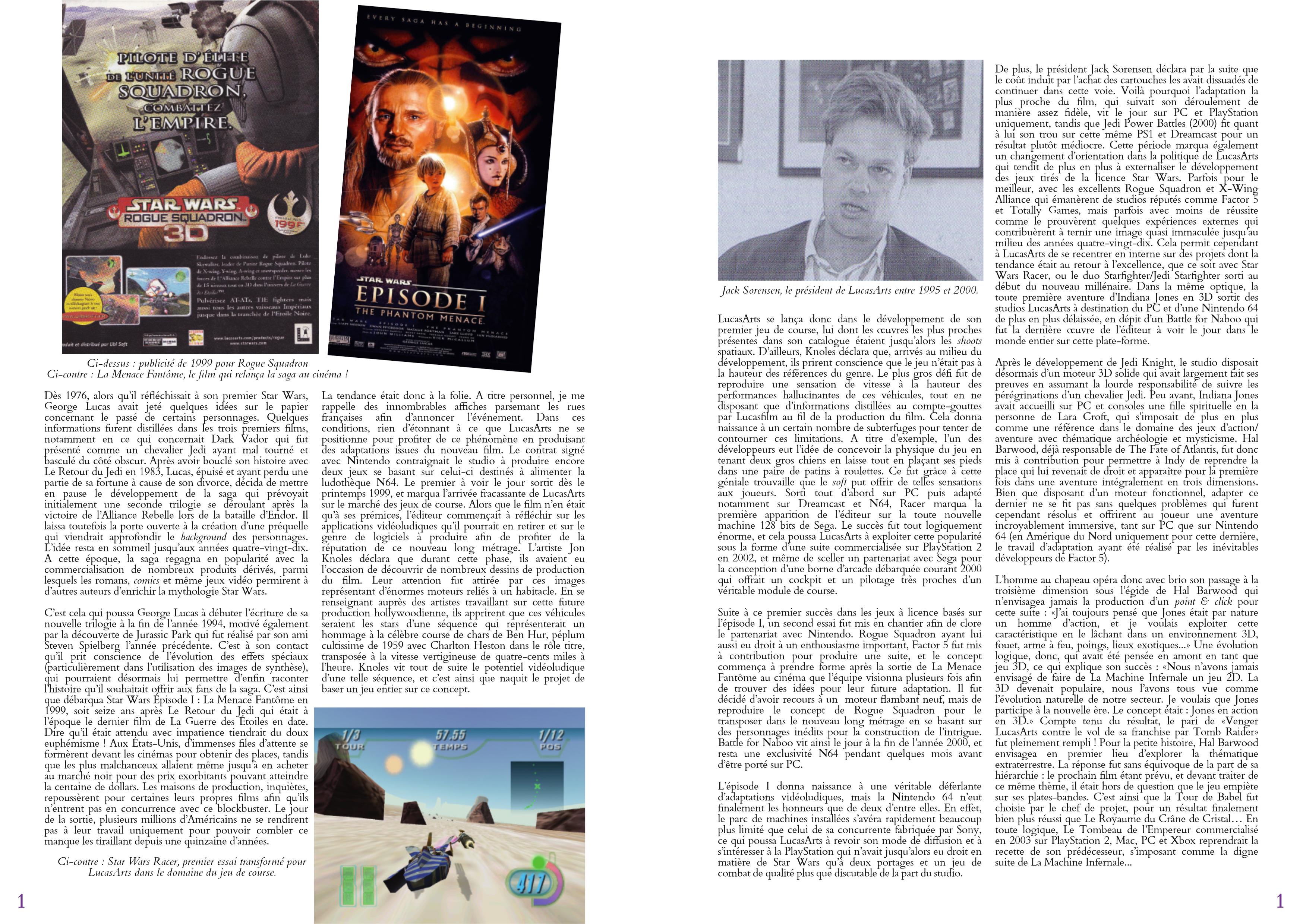 LucasArts les chroniques extrait histoire partie 8 -