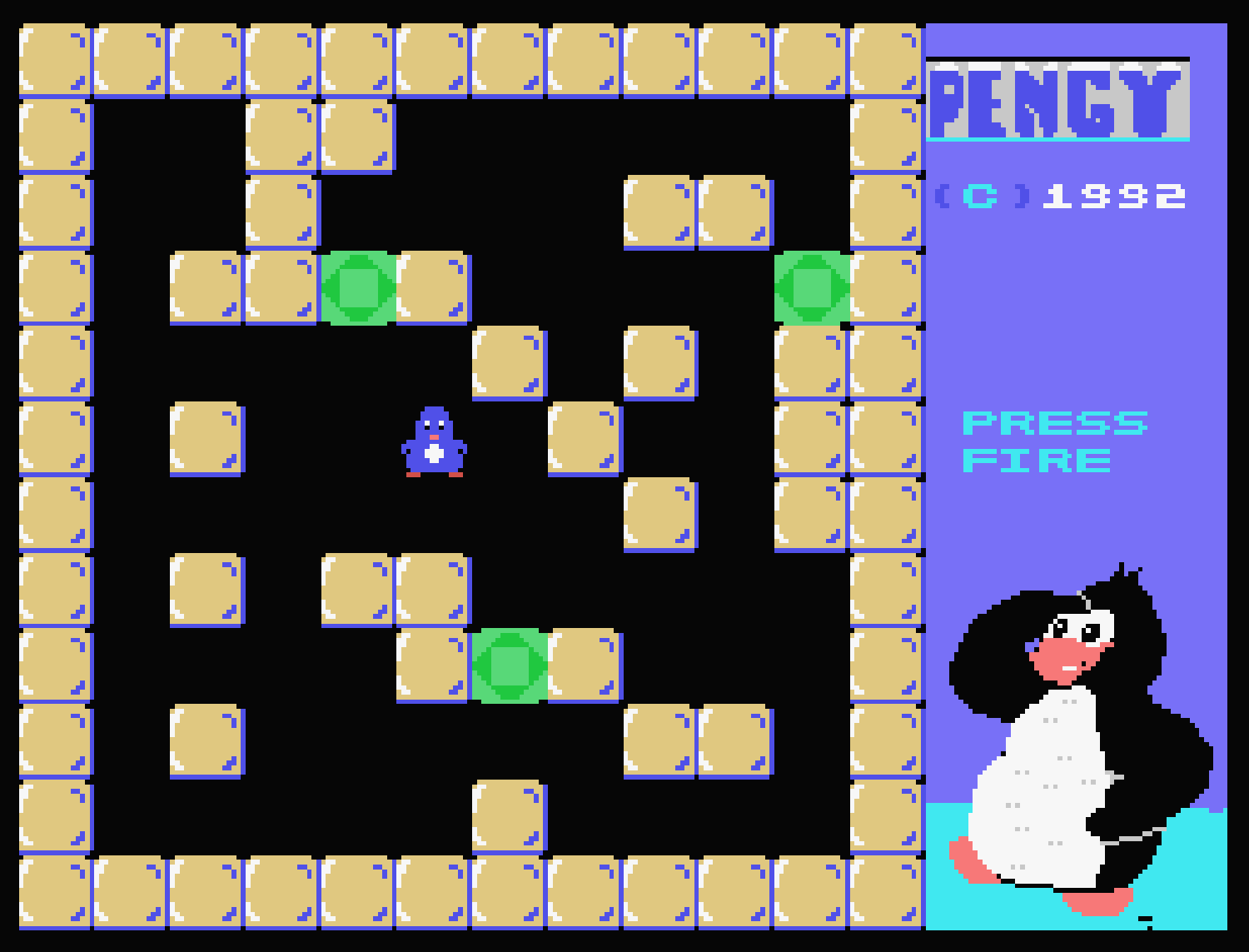 Pengy ColecoVision screen 3