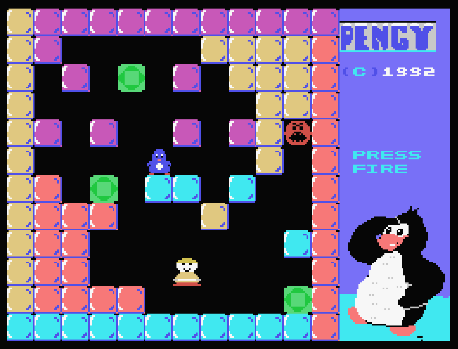 Pengy ColecoVision screen 4