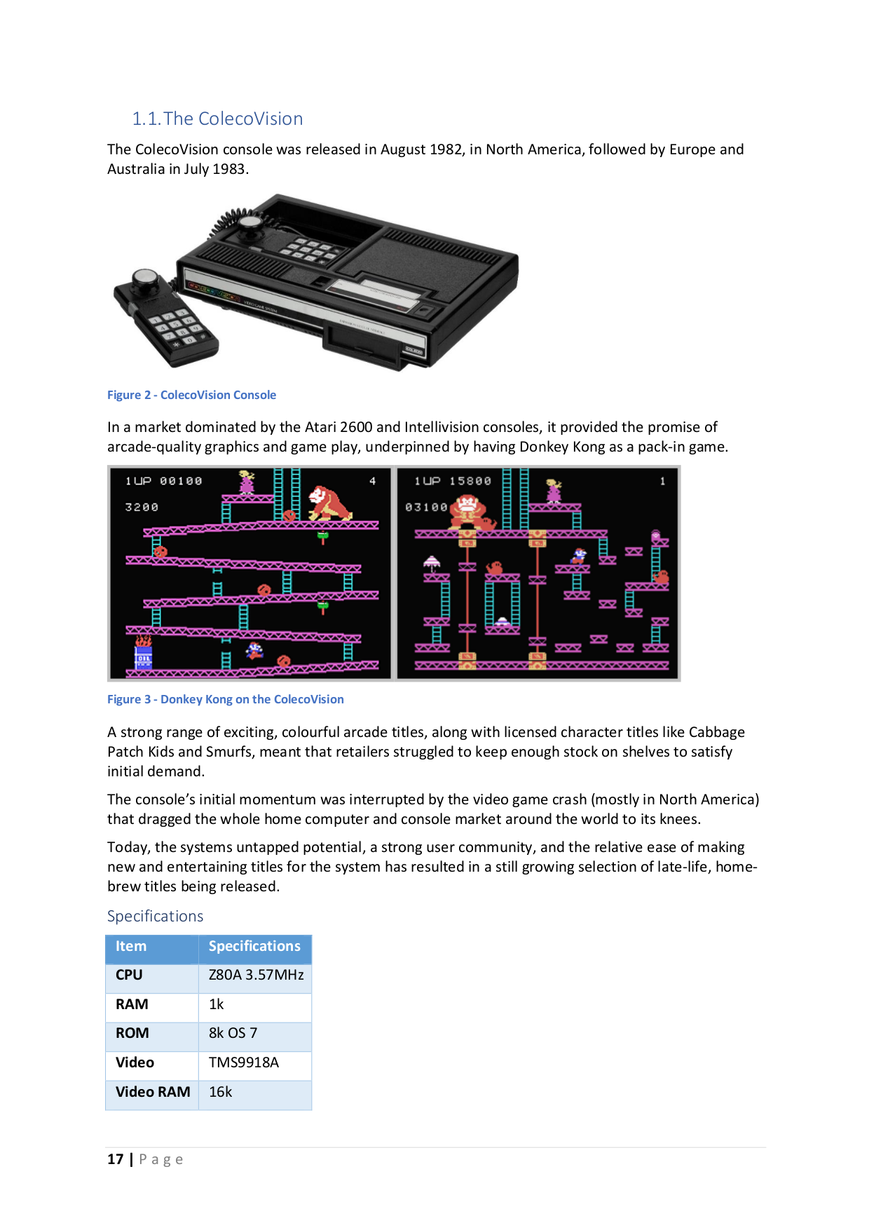 Programming Games fot The Colecovision