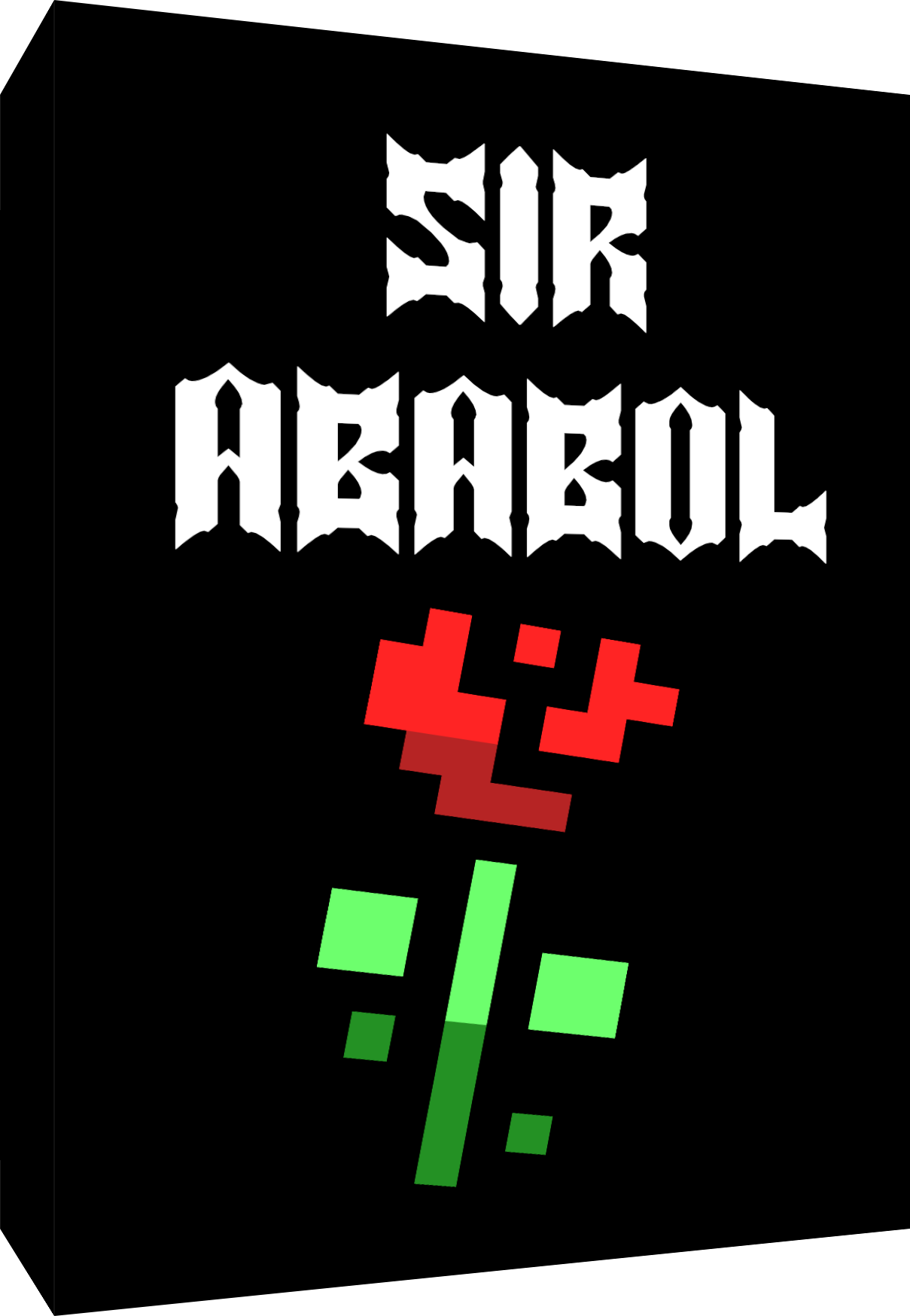 Sir Ababol ColecoVision Notice instructions manual cover