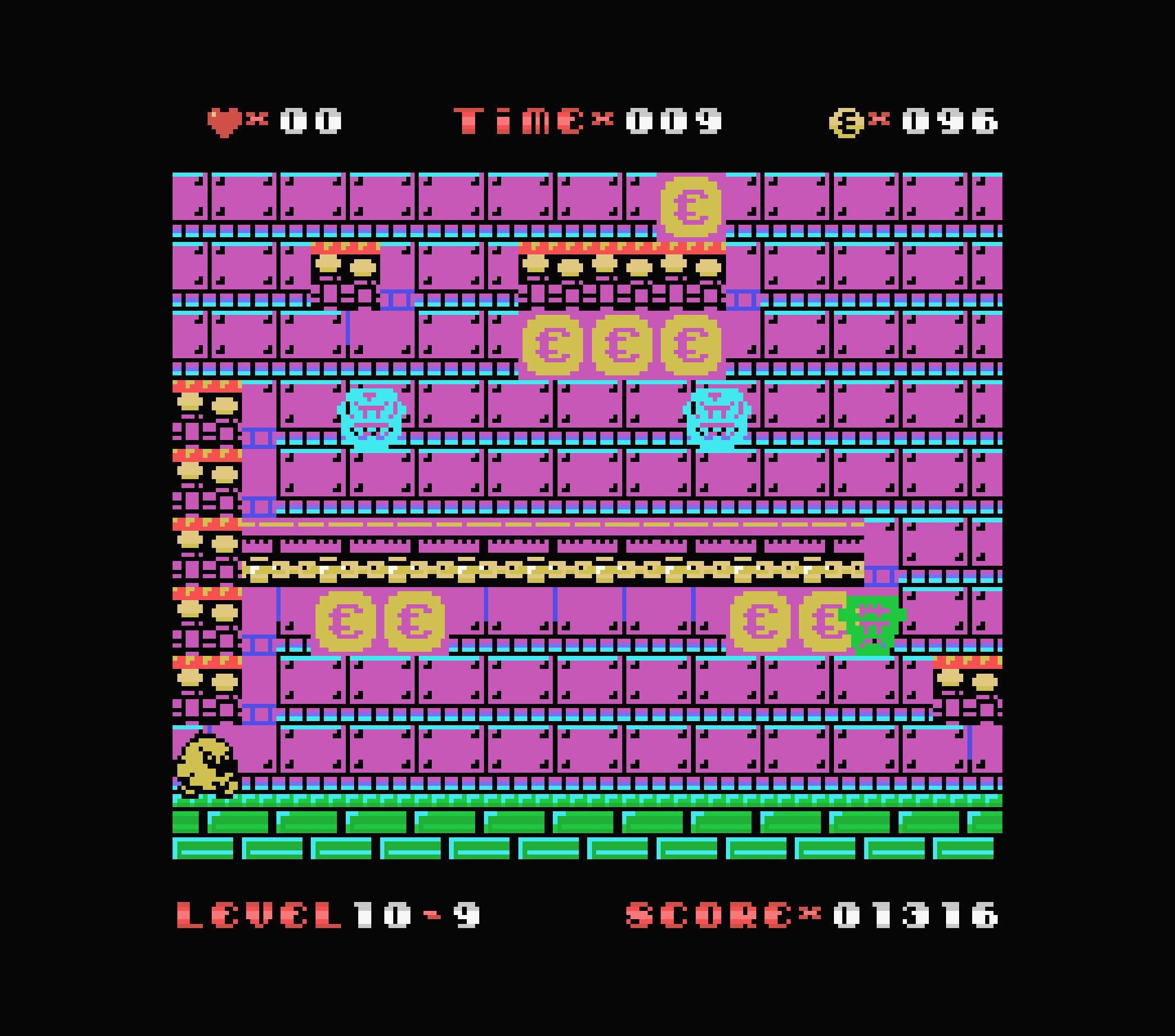 Uwol ColecoVision écran 2