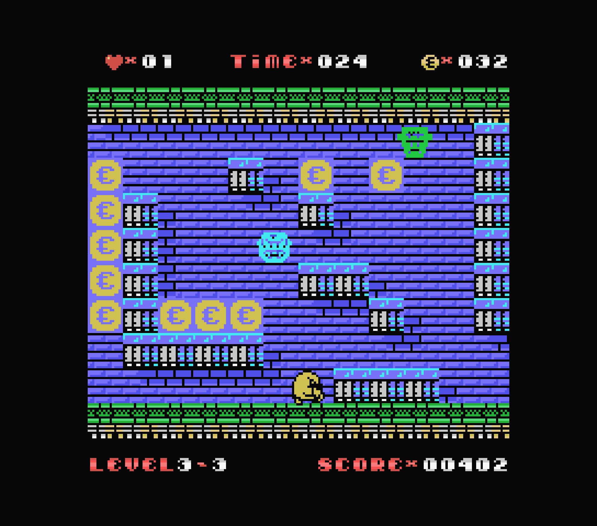 Uwol ColecoVision écran 3