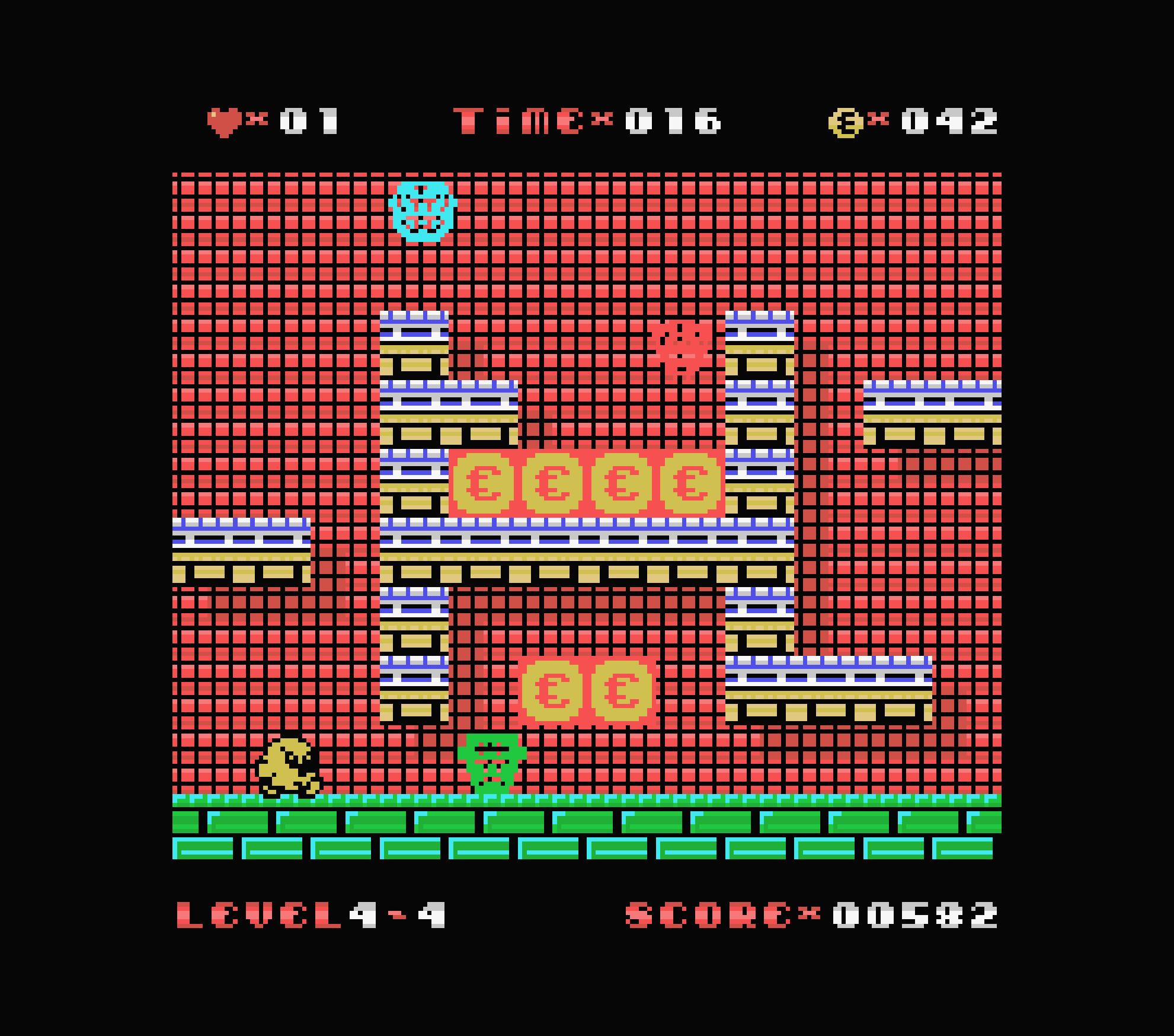 Uwol ColecoVision écran 4