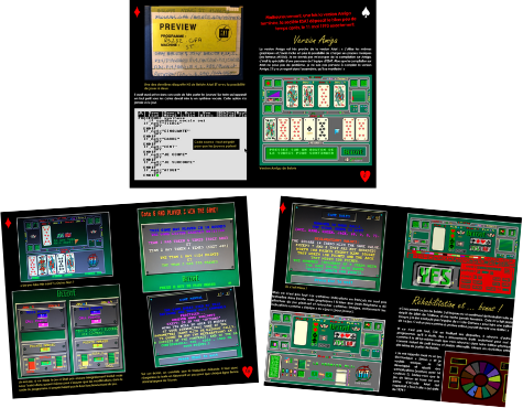 Belote Atari ST extrait livret